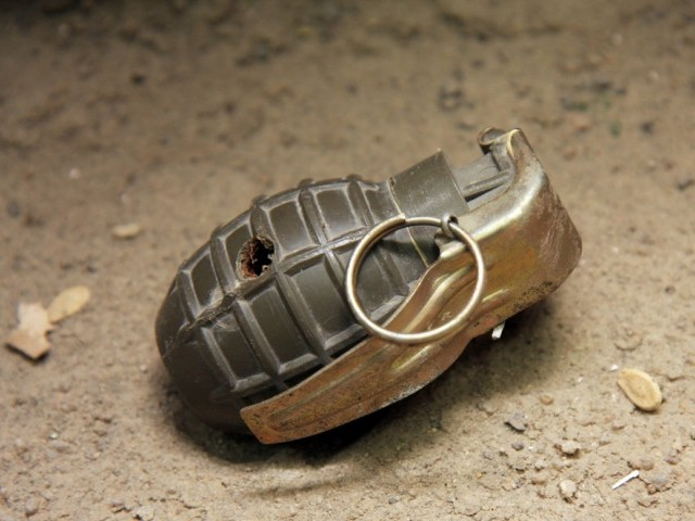 12 suspects arrested after grenade attack on flags stall