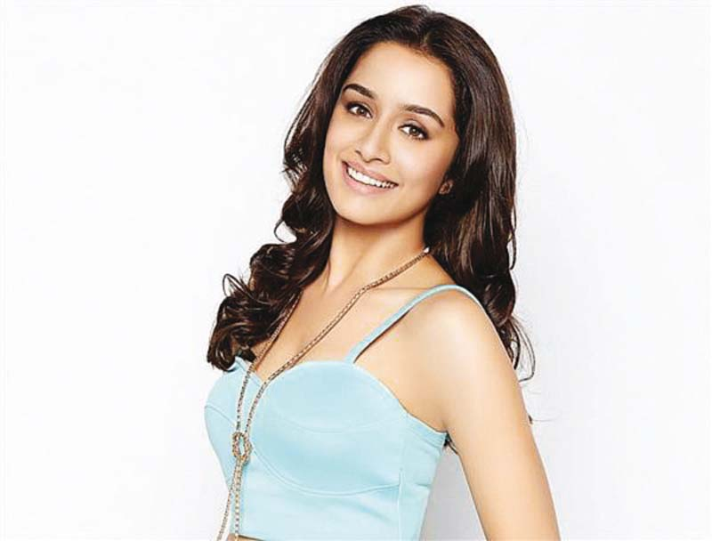 shraddha previously sang for films aashiqui 2 and haider photo file