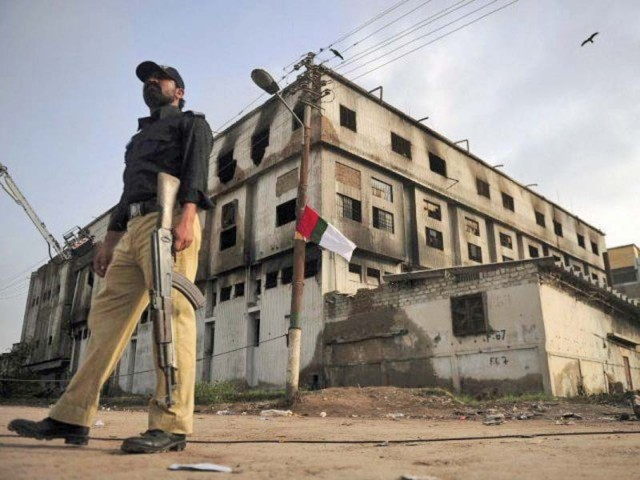 the baldia factory fire claimed the lives of 259 people on september 11 2012 and investigations previously failed to uncover the reason behind the fire photo file