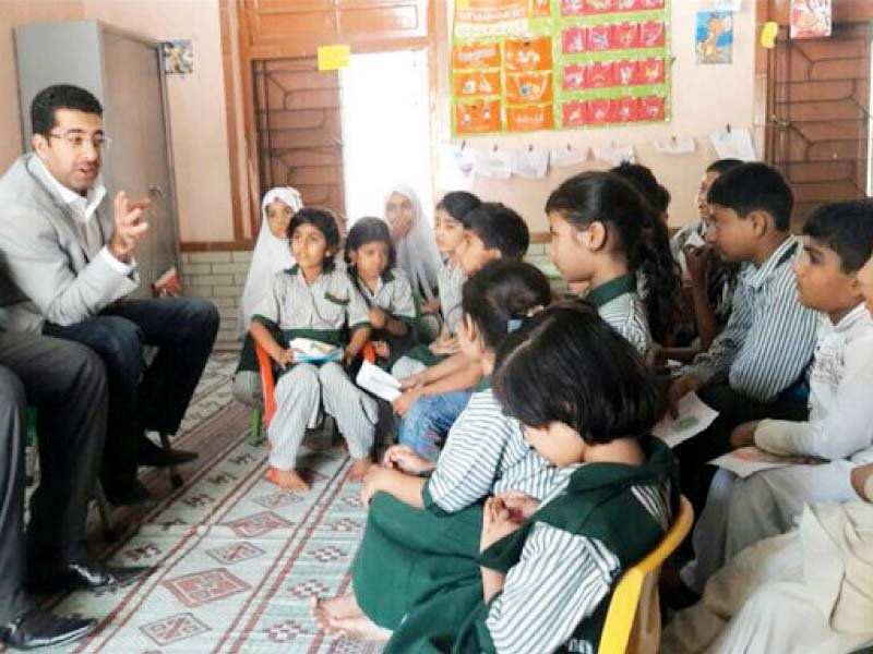 literacy programme mpa holds storytelling session at local school