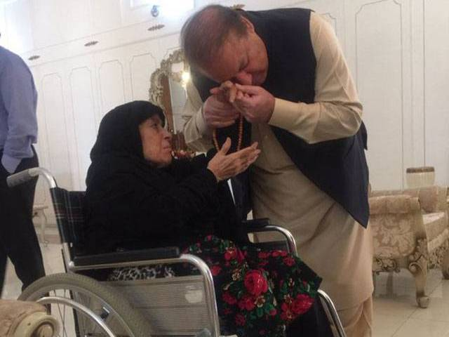PM says 'a personality' is hell bent to create hurdles for govt. PHOTO: TWITTER @MARYAM NAWAZ