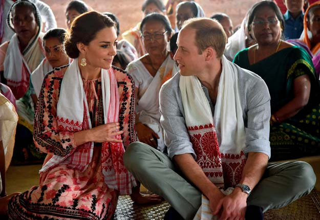a royal encounter for britain s william and kate in bhutan