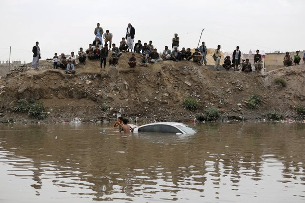 picture shows the devastation of floods in saudi arabia photo the gulf today