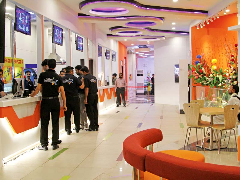 situated on the third floor of the millenium mall in gulistan e jauhar mega multiplex opened on friday evening with an aim to provide the public an opportunity to watch movies without having to go to saddar or dha photo aysha saleem express