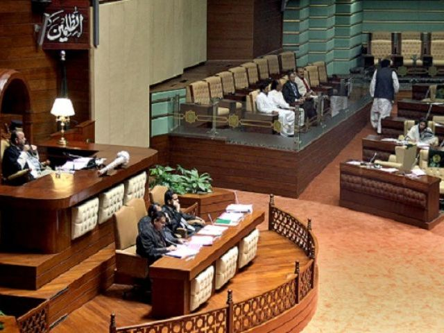 speaker sindh assembly chairing the session photo app file