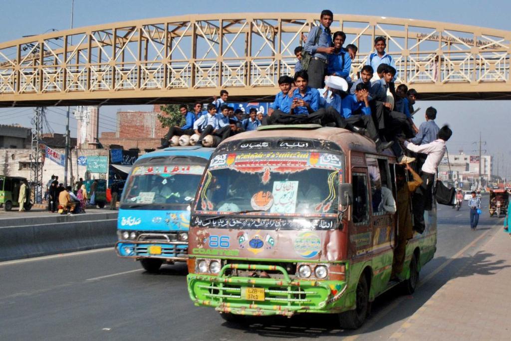 public transport in lahore photo online
