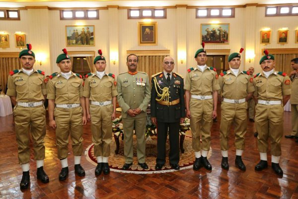 first batch of afghan army cadets passes out from pma