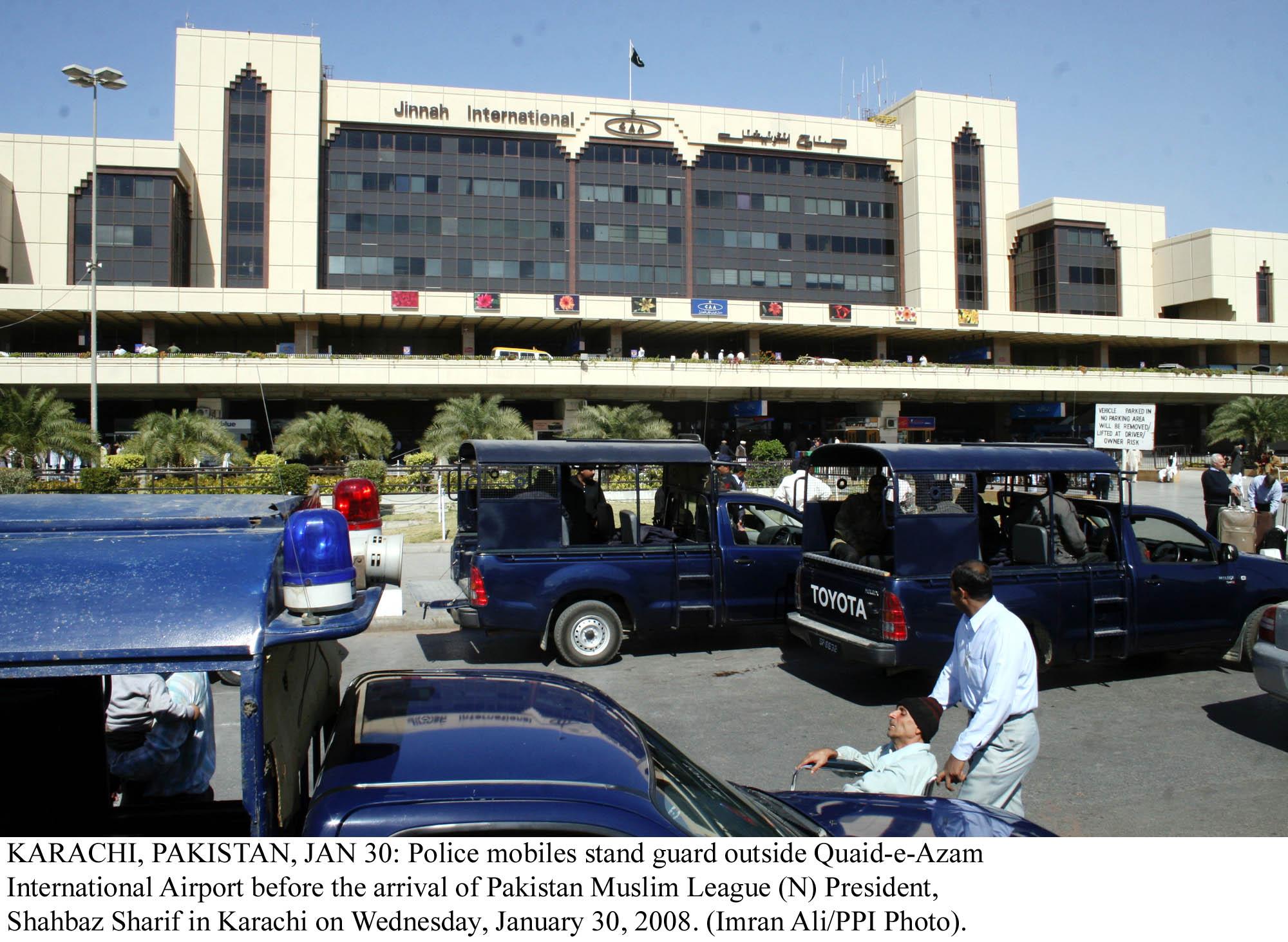a file photo of karachi airport photo ppi
