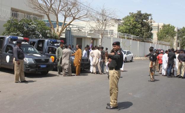 a file photo of karachi 039 s atc photo afp