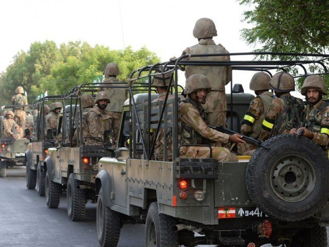 a file photo of the pakistan army photo afp