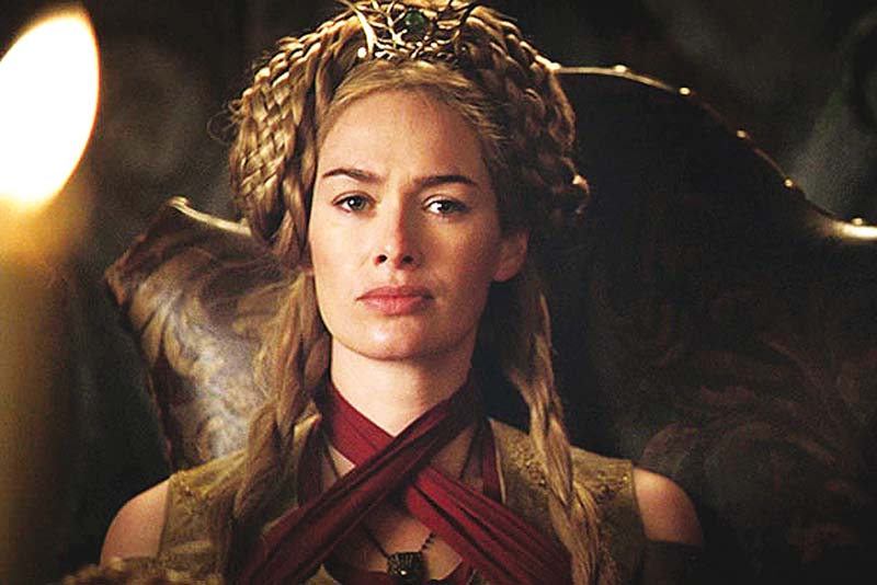 british actor lena headey plays cersei lannister in game of thrones photo file