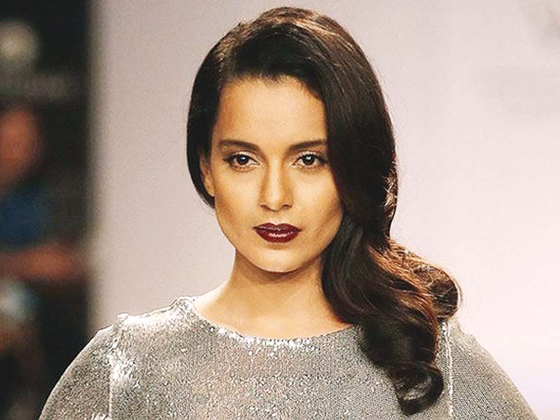 kangana ranaut has been at loggerheads with hrithik roshan for a months photo file