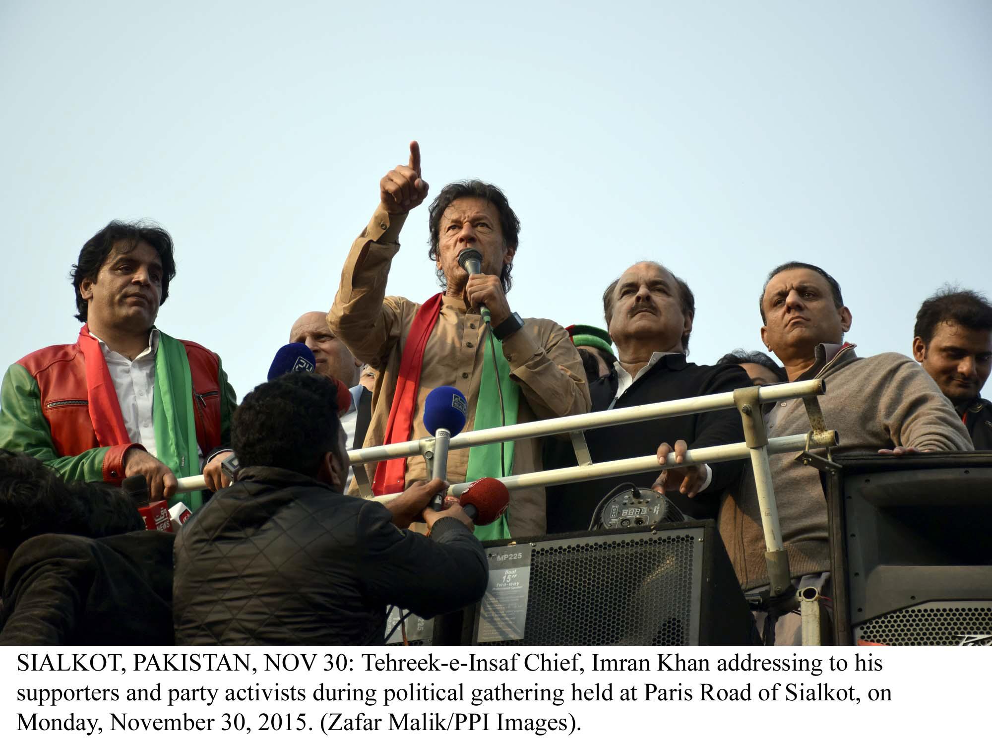 a file photo of pti chairman imran khan photo ppi