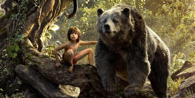 rudyard kipling 039 s classic stories about a boy named mowgli who is raised by animals