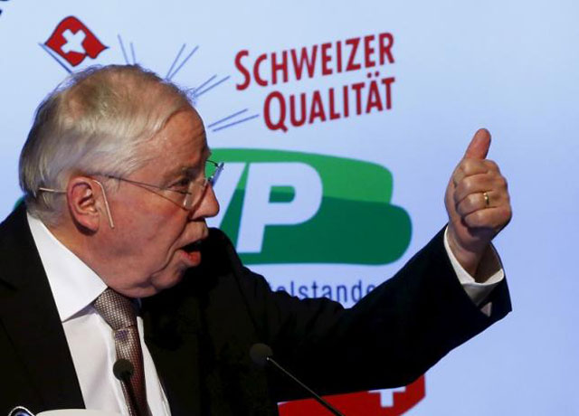 swiss right wing icon likens party s treatment to nazis exclusion of jews