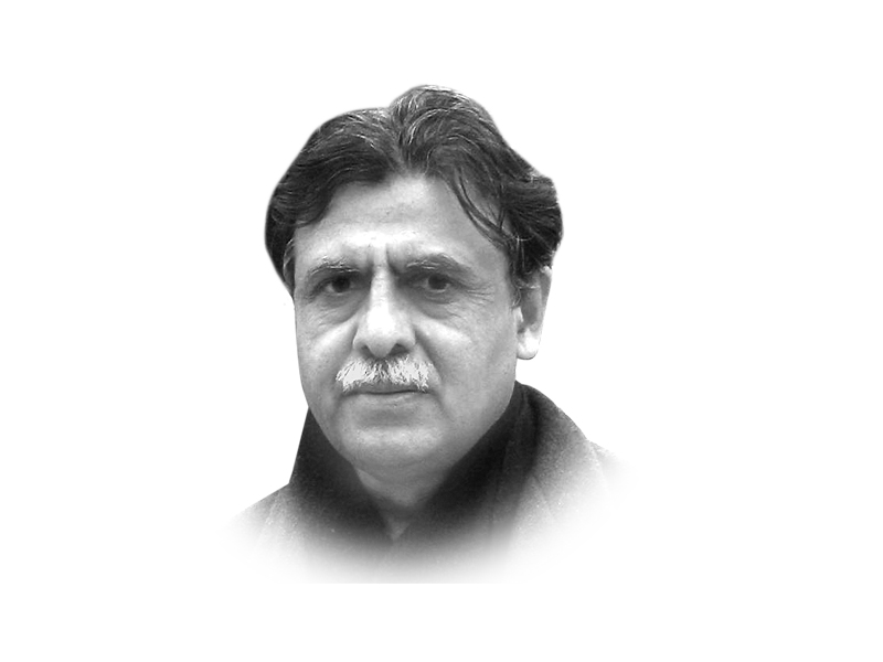 the writer is an author and a former interior secretary he teaches at the lahore university of management sciences