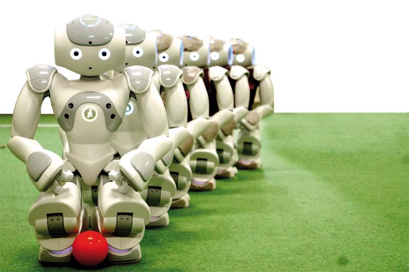would be among 27 universities to participate in robot football world cup photos courtesy nust