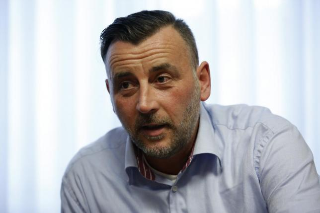 lutz bachmann co leader of anti immigration group pegida photo reuters