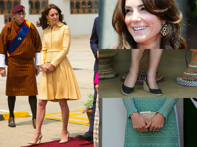 the duchess of cambridge gave some serious style goals to all the girls next door