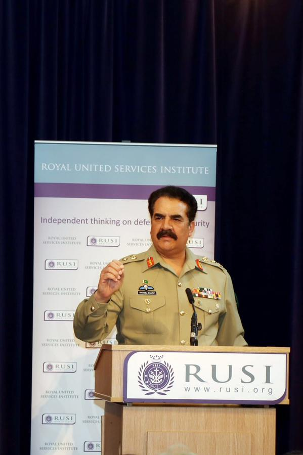 a file photo of army chief general raheel sharif photo ispr