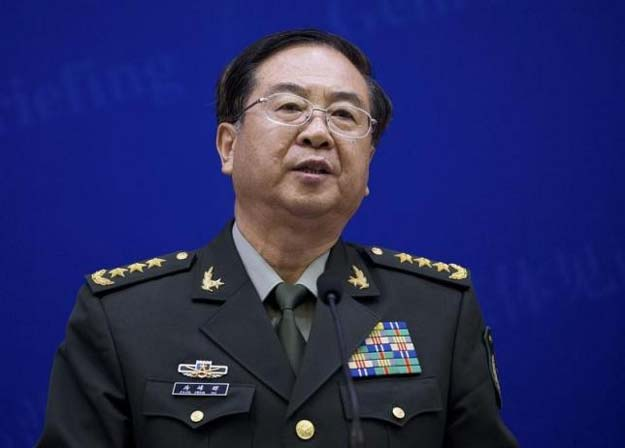 chief of the general staff of china 039 s people 039 s liberation army fang fenghui speaks during a press briefing with us joint chiefs chairman general martin dempsey not pictured at the bayi building in beijing april 22 2013 photo reuters