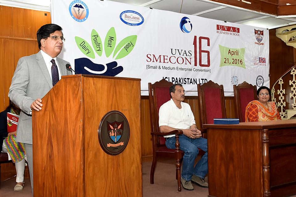 Small and Medium Enterprise Convention (SMECON) held at UVAS. PHOTO: ONLINE