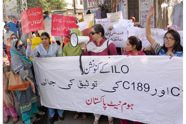 legal rights policy on home based workers demanded