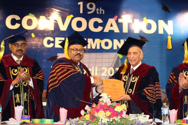 mphil master s and bachelor s students awarded degrees diplomas at university s 19th convocation photo facebook com muet pk