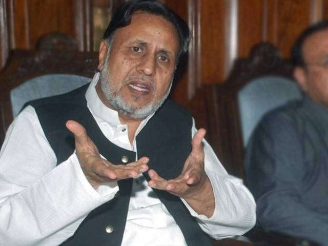 leader of opposition mehmoodur rasheed in punjab assembly photo nni file