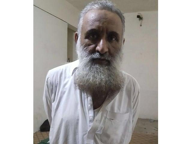 the arrested al qaeda financier photo karachi police media cel