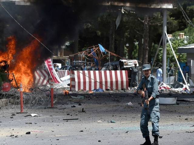 the taliban claimed attack on april 19 claimed 64 lives and injured 347 others photo afp
