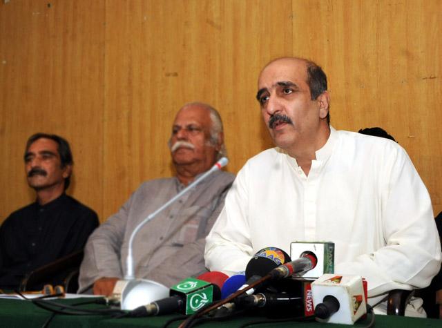 akbar s babar founding pti balochistan president r photo express