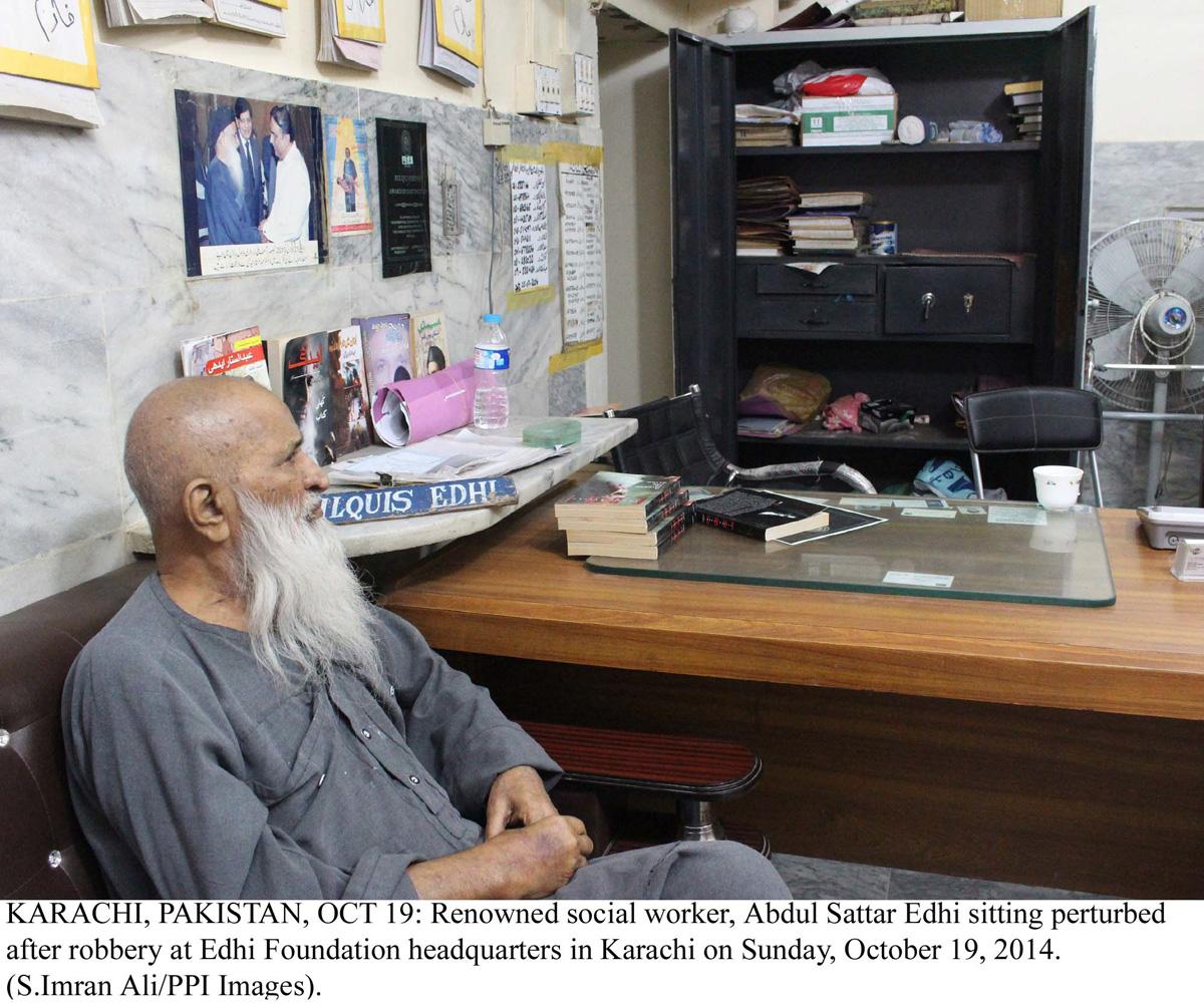 abdul sattar edhi photo ppi
