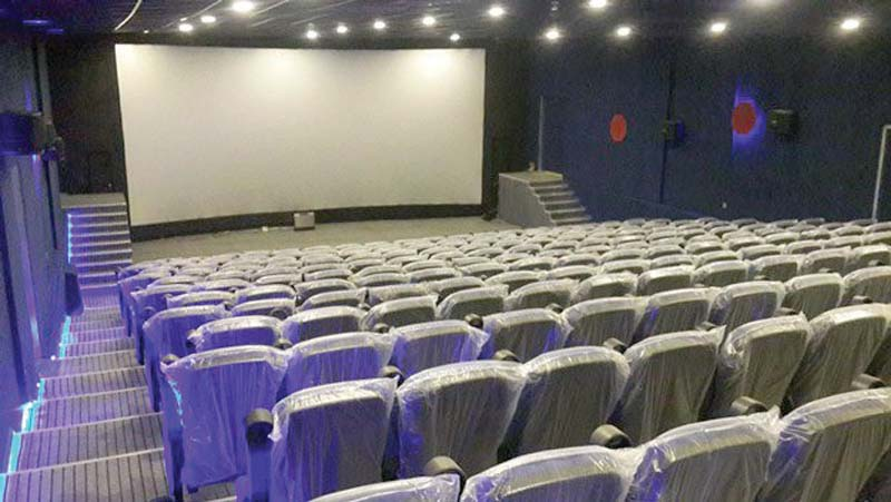 the cinema will function with a single screen until work on the other halls is completed photo publicity