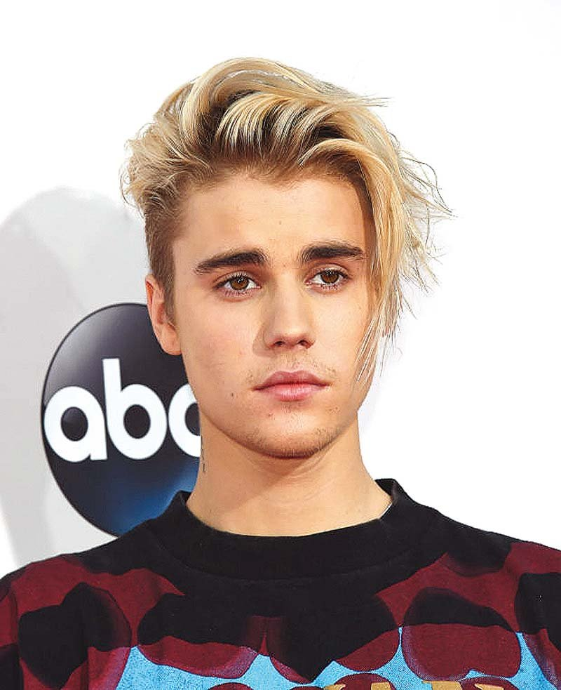 bieber was lambasted by instagram users following his comment on watt s post photo file