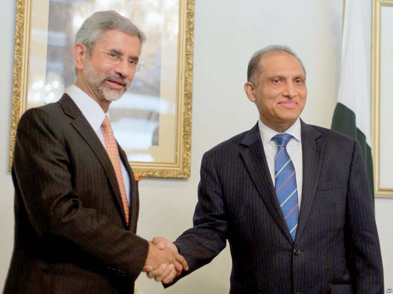 subrahmanyam jaishankar and aizaz chaudhry photo file
