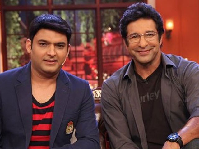 wasim akram had previously appeared on comedy nights with kapil photo screengrab