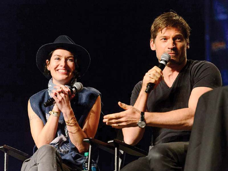 coster waldau is all praises for female co stars such as lena heady photo file