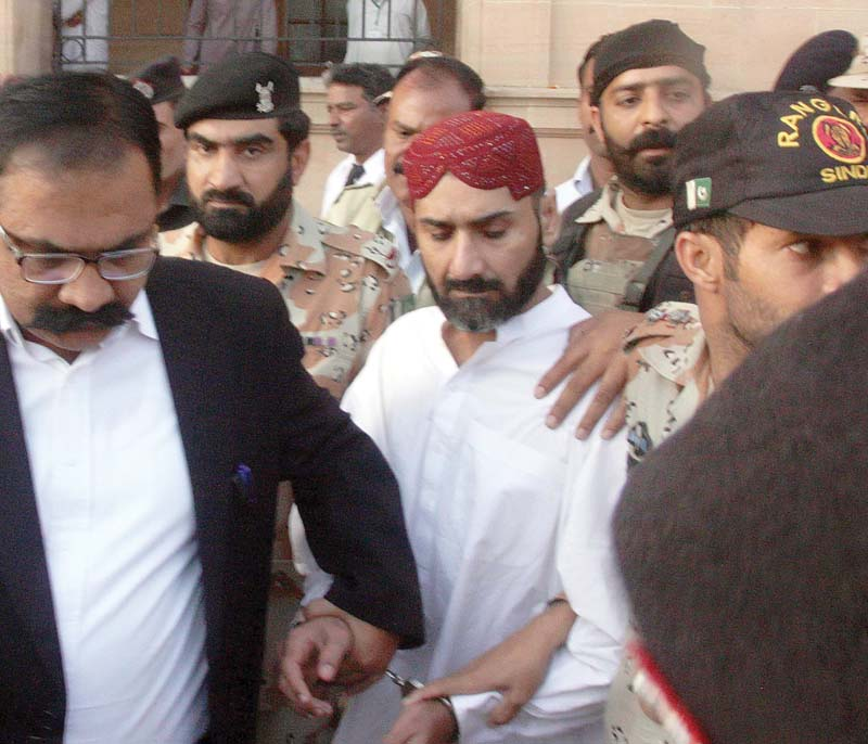 uzair baloch was allegedly nabbed from karachi s outskirts on january 30 while attempting to enter the city photo