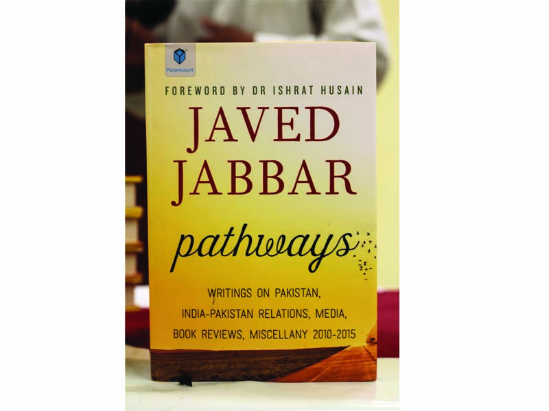 the book is an anthology of 84 essays divided into five sections   india pakistan pakistan the media book reviews and miscellaneous essays photo ayesha mir express