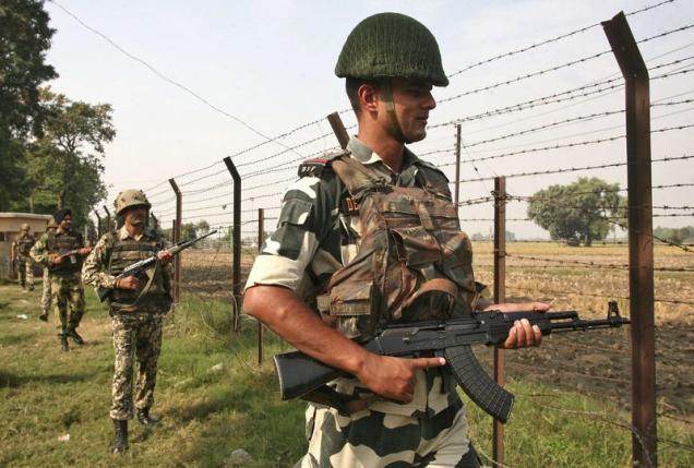 laser walls activated along india pakistan border