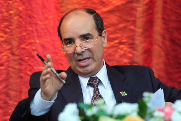 ibrahim dabbashi gestures as he delivers a seminar titled 039 039 transitional justice 039 039 in benghazi january 24 2012 reuters