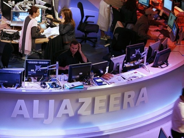 the doha based news network said that it had not violated regulations or deviated from objective coverage photo afp file
