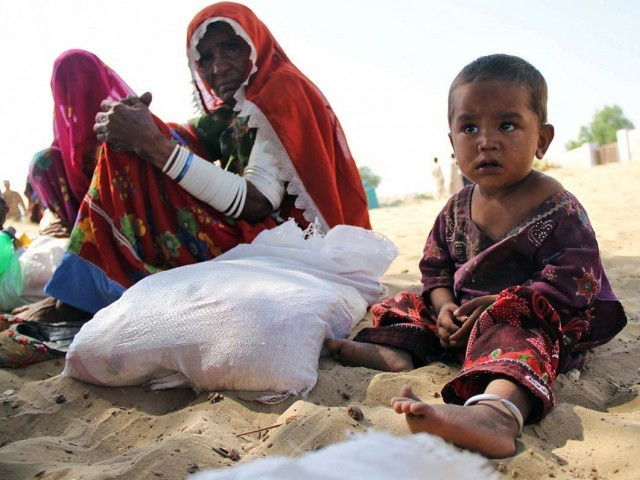 thar commission clearly blames the sindh government for the deaths in the area photo online