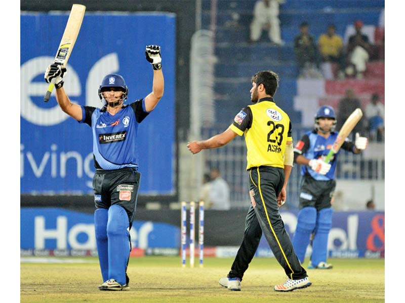 latif s unbeaten 168 single handedly took his side to the brink of victory but it was not to be as sindh tasted defeat for the first time in the pakistan cup photo courtesy pcb