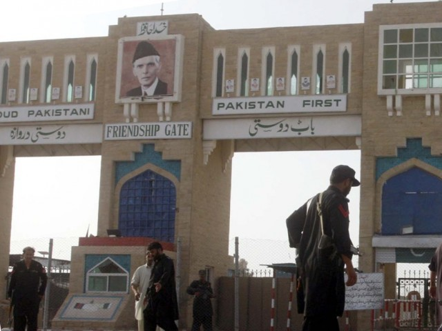 a file photo of pak afghan border photo ppi