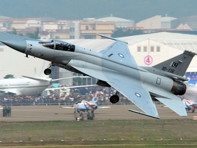 jf 17 thunder fighter jet photo afp