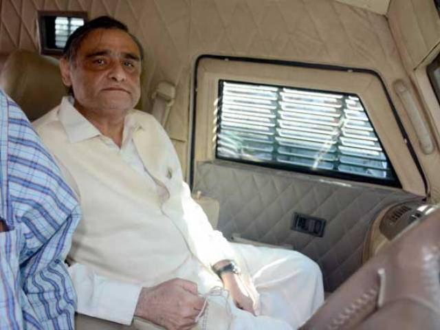 dr asim hussain being taken to the court for his hearing on february 9 2016 photo express