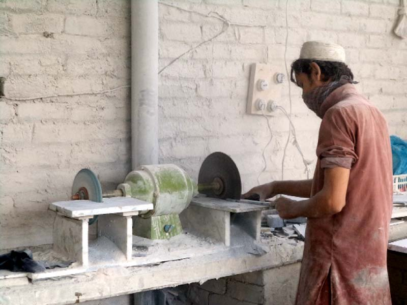 there is also no concept of using safety gloves near chemicals and cutting equipment photos shazia mehboob express