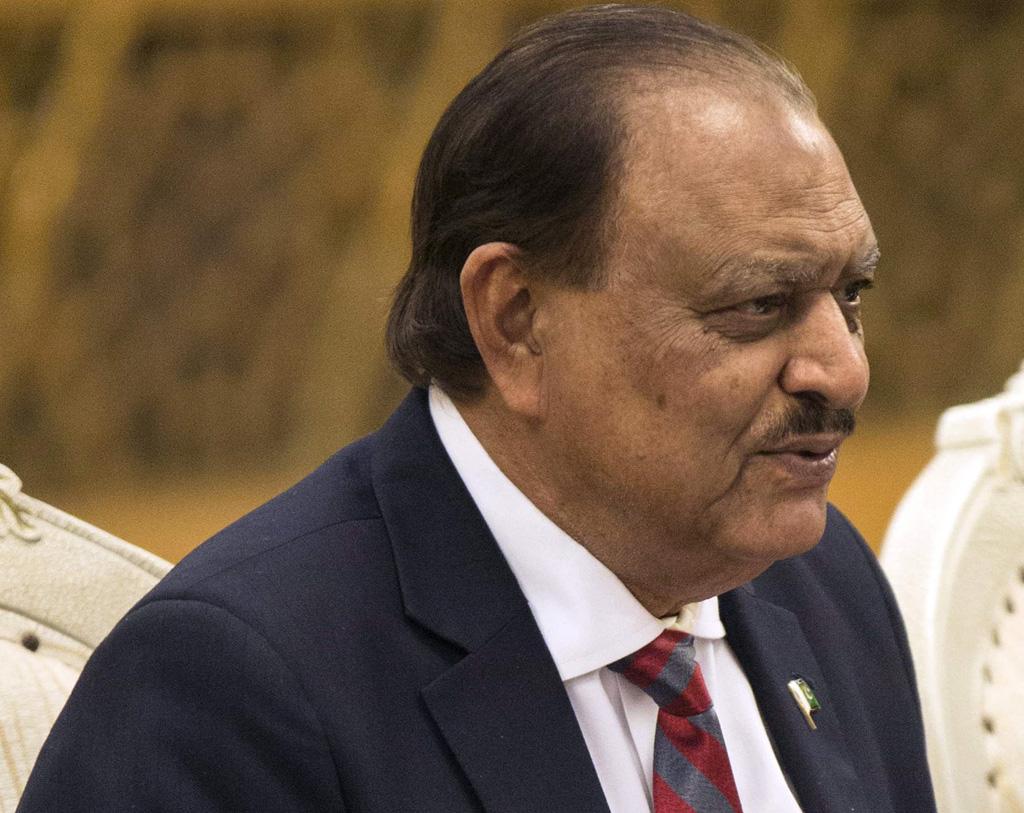 president mamnoon hussain photo afp